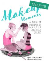 Front page for Makeup Moments