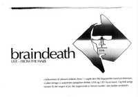 Front page for Braindeath