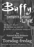 Forside til Buffy - the Vampire Slayer Live