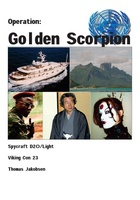 Forside til Golden Scorpion