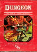Front page for Dungeon