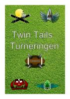 Front page for Twin-Tails Turneringen