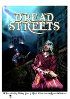Front page for Dread Streets