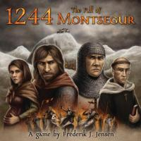 Omslag till 1244: The Fall of Montsegur