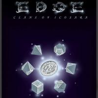 Front page for Edge: Clans of Icosara