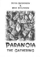 Forside til Paranoia the Gathering