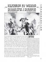Front page for Dubbelspel i Durango